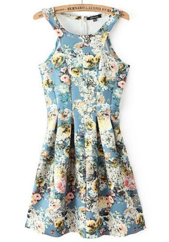 Blue Floral ++