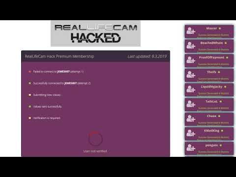 RealLifeCam Hack Premium Membership Online Generator 2019