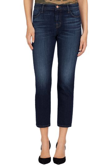 J BRAND 23135 Maria Straight Crop in Invited.