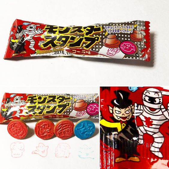 #MonsterStamp #Cola #BFJCajaMayo Un caramelo misterioso que se convierte en sello cuando lo lames.  Después de jugar con el sello te lo podrás comer entero. Viene con  sabor a coca cola.  www.boxfromjapan.com  A mysterious candy which becomes a stamp when you lick it.After you've player  with the stamp you can just eat it whole. It comes in a cola flavor.  #BFJMayBox #golosinasjapon #boxfromjapan