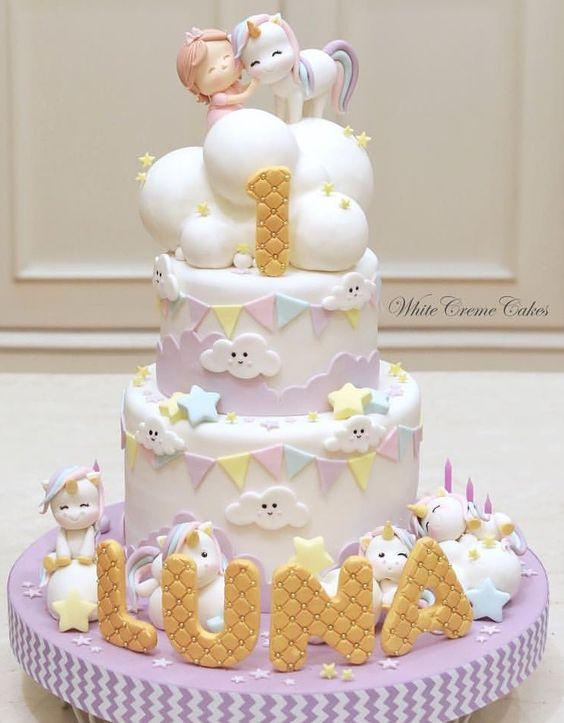 Tremendous Image By Mercede Lynn Baby Girl Birthday Cake Funny Birthday Cards Online Hetedamsfinfo