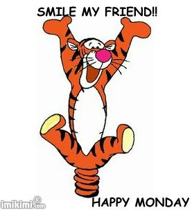 Image result for tigger on monday images