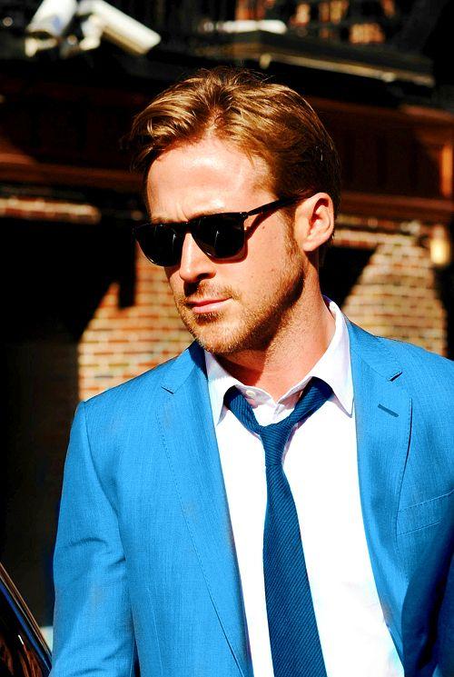 i love when he wears blue