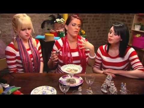 ▶ K3 - De wereld van K3 - Knutselen - Snoepschaal - YouTube