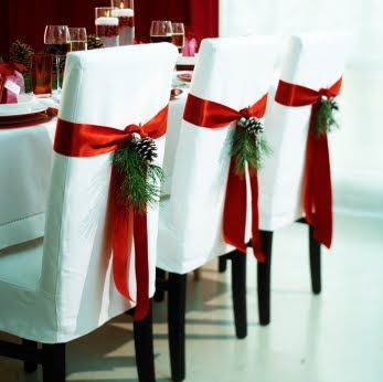 Christmas dining room chairs