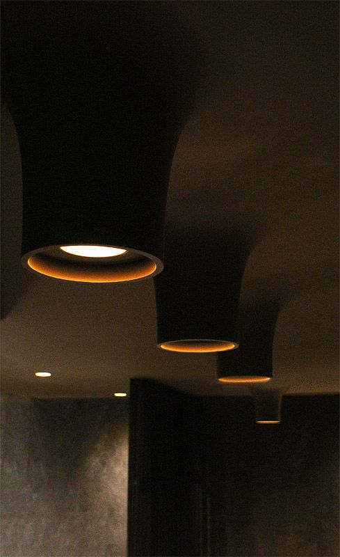 Cave lights from Flos.