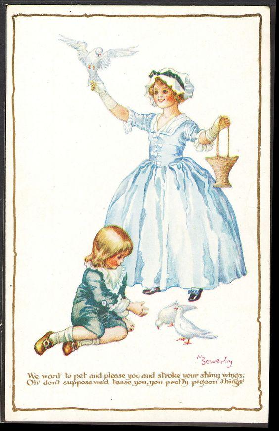 Millicent Sowerby postcard | eBay: