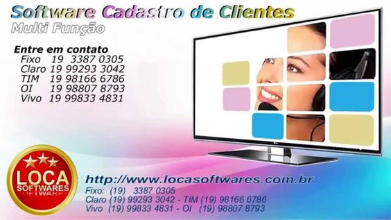 Software cadastro de clientes software para clientes