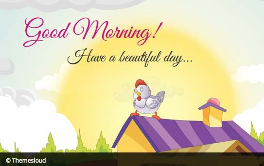 Send Lovely Morning Wishes To All With This Beautiful Ecard