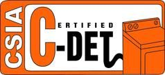 Certified Dryer Exhaust Technician by the Chimney Safety Institute of America (CSIA)