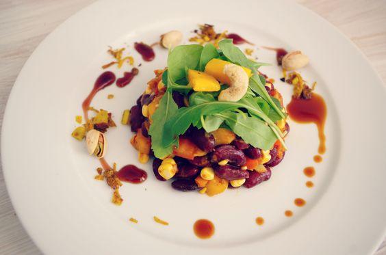 Vegan Oriental Kidneybean salad #slowfood # soulfood #glutenfree
