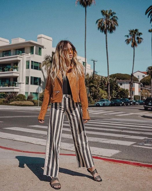 Whitney from @whitneybearr wearing the Nellie Culotte