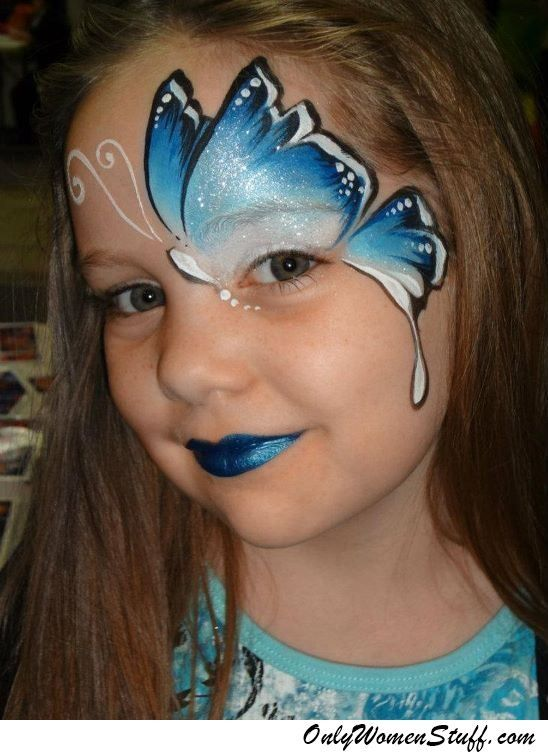 15 Easy Kids Face Painting Ideas For Little Girls Diy Face Painting Easy Face Painting Halloween Face Painting Designs