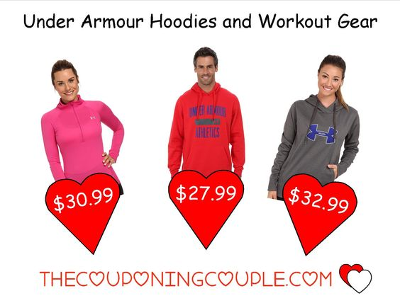 Hot Under Armour Deals! Save up to 50% or more! Hoodies starting at $27.99 shipped!  Click the link below to get all of the details ► http://www.thecouponingcouple.com/under-armour-hoodies-and-workout-gear-free-shipping/  #Coupons #Couponing #CouponCommunity  Visit us at http://www.thecouponingcouple.com for more great posts!