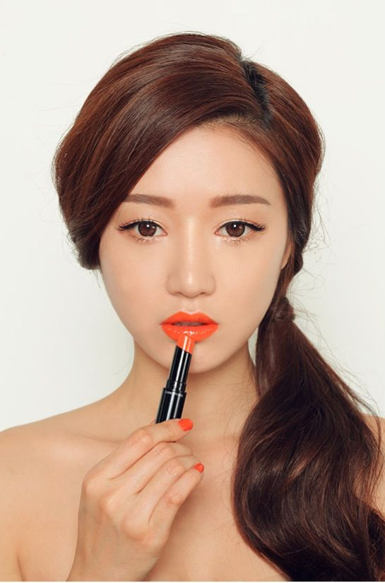 Park sora (Ulzzang make up) Tangerine. This one good for my tan Skin: