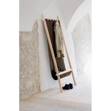 Perchero Recibidor Mueble Moderno Madera  Diseno Mobler