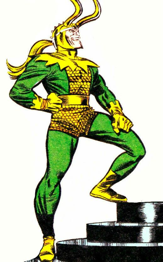 Marvel Comics: Loki by Ron Frenz. Asgardian. Super villain ...