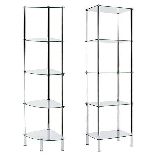 Badezimmer Regal 30 Cm Collection In 2020 Glass Shelving Unit