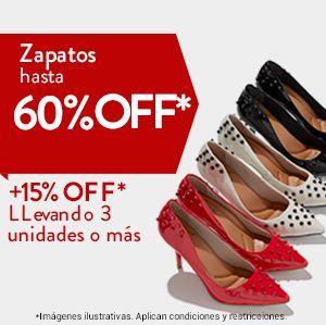 Tus marcas favoritas en Zapatos hasta 60%