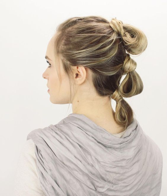 party hairstyles for medium length hair : new tutorial on my channel. How todo Leia, Padme, and Reys hairstyles ...