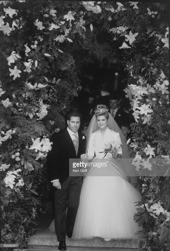 Viscount Linley ( Princess Margaret's son) marries Serina Stanhope