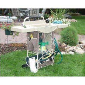 Vertex Outdoor Portable Garden Utility Center Sink Outdoor