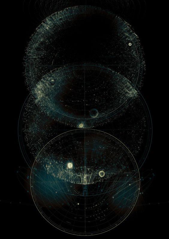 lower, middle, upper worlds: Black Hole, Constellation, Cosmo, Sacred Geometry, Circle, Tatiana Plakhova, Beautiful Things