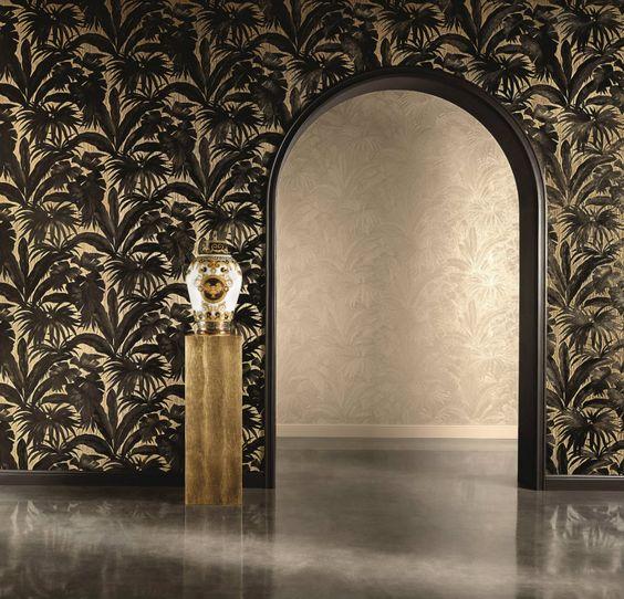 Top 10 moderne Tapeten   Versace Kolletion  http://wohn-designtrend.de/