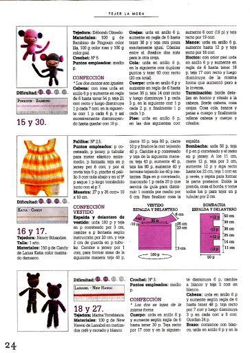 Tejer La Moda 091 - Bebé Verano y Amigurumi 2010 - Melina Tejidos - Álbumes web de Picasa