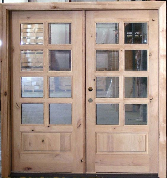 Style french doors and front doors on pinterest for Double hung french patio doors