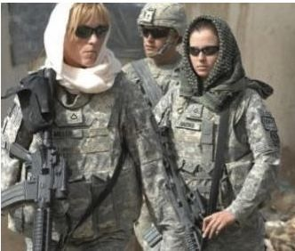 U.S. Female Soldiers in Afghanistan