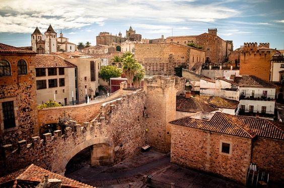 Un lugar mágico #Cáceres #Spain: