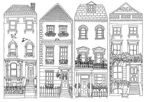 Cartoon Doodle Zeichnungen Cartoon Doodle Drawings In 2020 Zeichnungen Inspirierende Kunst Hauser Zeichnen
