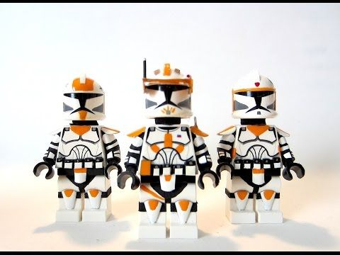 Offical Lego Helmet Lego Star Wars Clone Commander Cody
