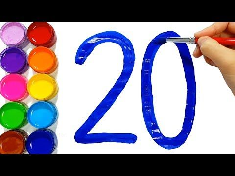 Jolly Toy Art Youtube Learning Colors Coloring For Kids Learning Numbers
