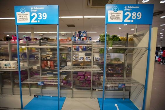 De supermarkt schreeuwt dit keer: níet hamsteren! | Trouw