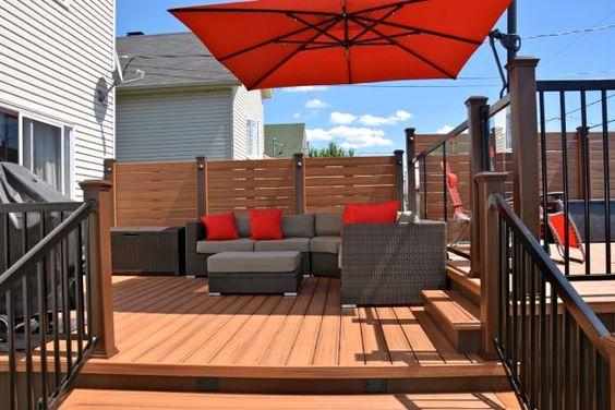 Wood Plastic Composite Decking Outdoor Floor Supplier