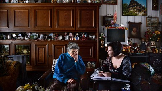 Met cliëntondersteuner Sandy Deckers op huisbezoek in Heerlen