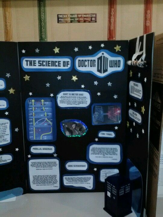 Doctor Who Science Fair Project #DoctorWho