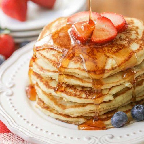 Homemade Buttermilk Pancakes Fluffy Golden Lil Luna Recipe Homemade Buttermilk Pancakes Homemade Buttermilk Pancake Recipe Buttermilk