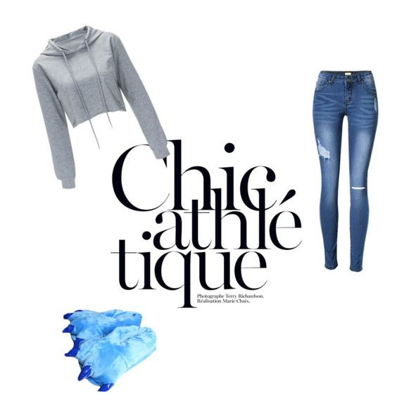"""""""chic athletique"""" by esrauzman ❤ liked on Polyvore"""