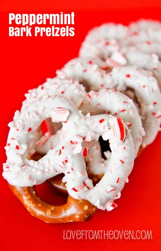 Peppermint bark pretzels - 25+ Peppermint Recipes - nobiggie.net