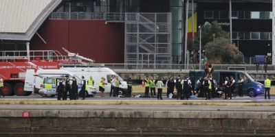 Una protesta en plena pista bloquea el Aeropuerto London City