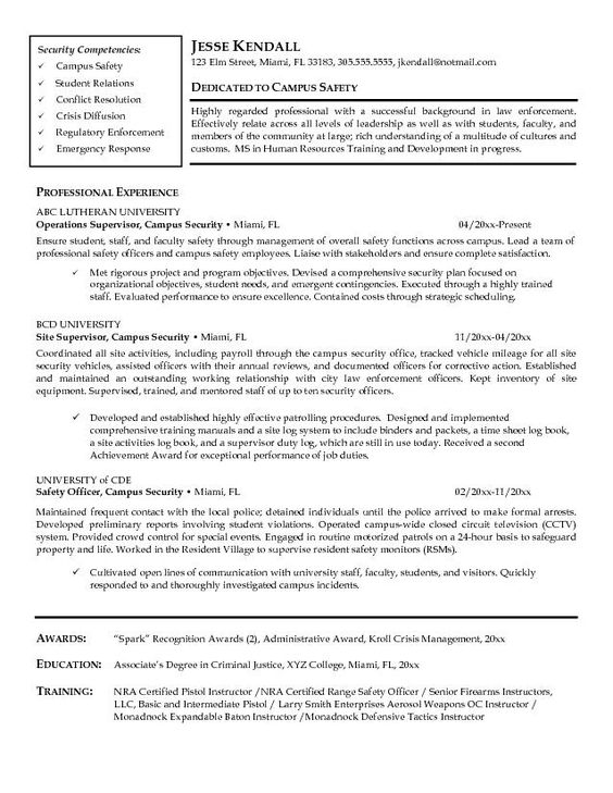police officer resume examples no experience if you want to become - Law Enforcement Resume