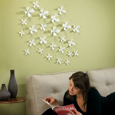 Wallflower - Flores p/ decorar parede