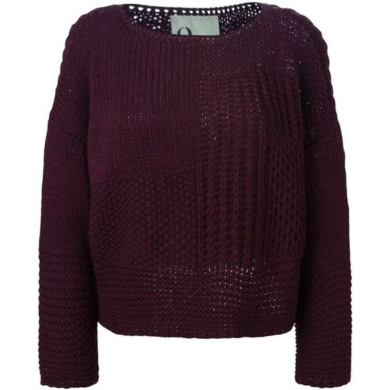 8pm Boat Neck Sweater (11.270 RUB) ❤ liked on Polyvore featuring tops, sweaters, bateau neck top, boat neck tops, bateau neck sweater, purple top and boatneck sweater