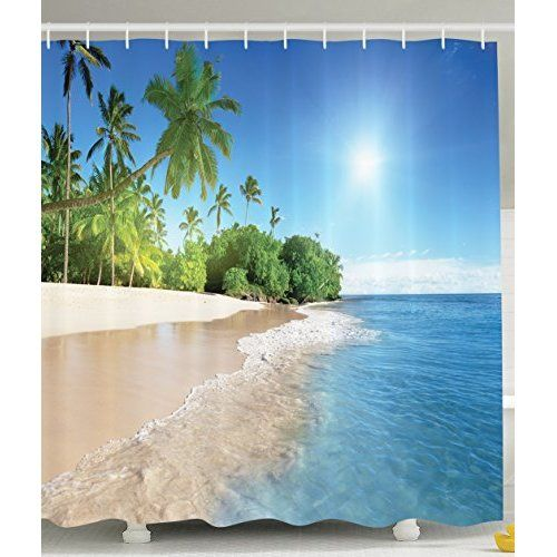 Heavenly Beach House Decorating Ideas Shower Curtain Decor