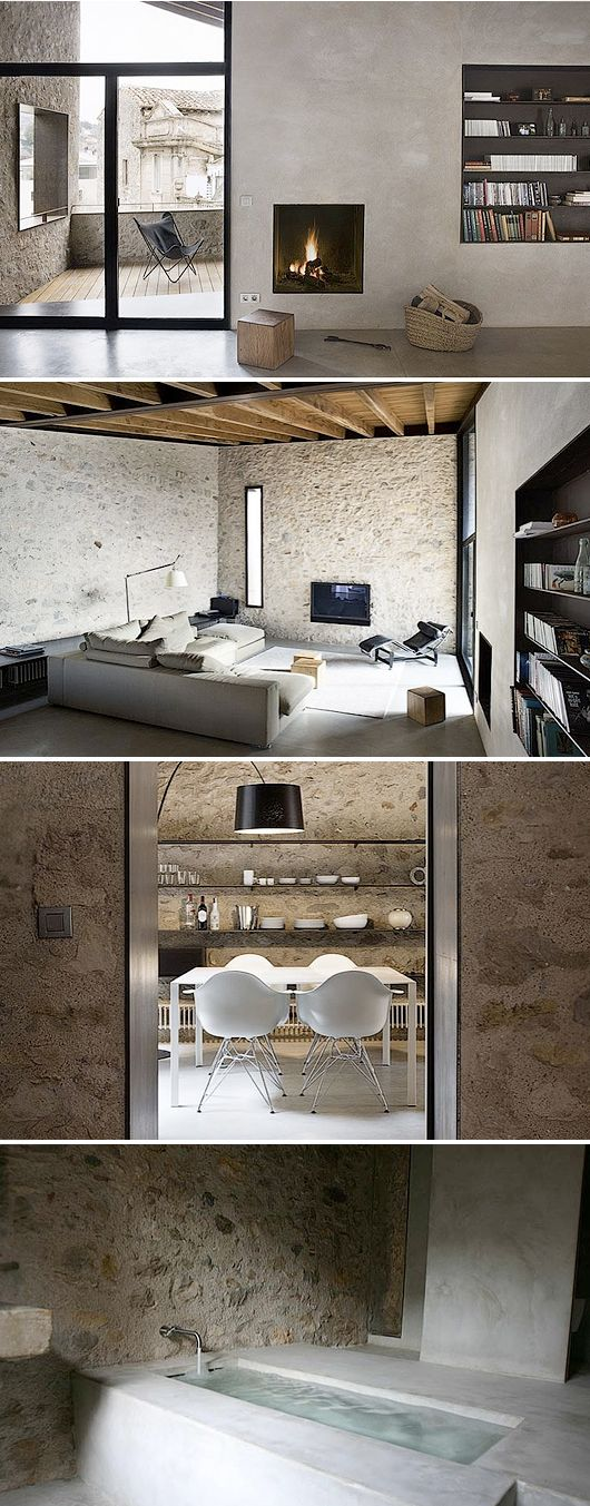 Modern Country Home Interiors | Architecture | Pinterest | Modern Country,  Interiors And Stone Walls