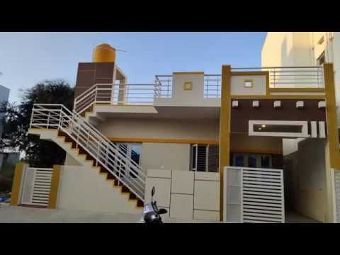 30 X 40 G F House For Sale At Vijaynagar 4th Stage Mysore Youtube House Elevation House Design House