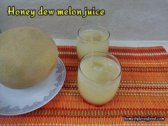 Honey Dew Melon Juice